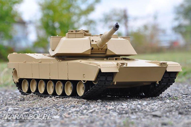 czołg zdalnie sterowany Abrams