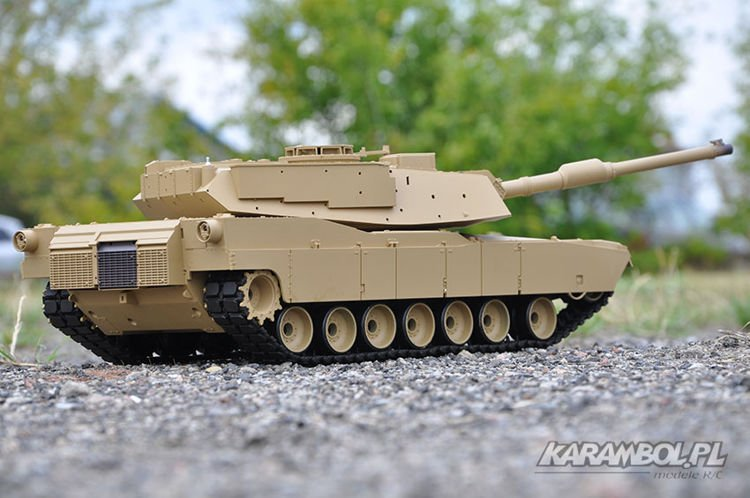 czołg Heng Long Abrams 1/16 M1A2