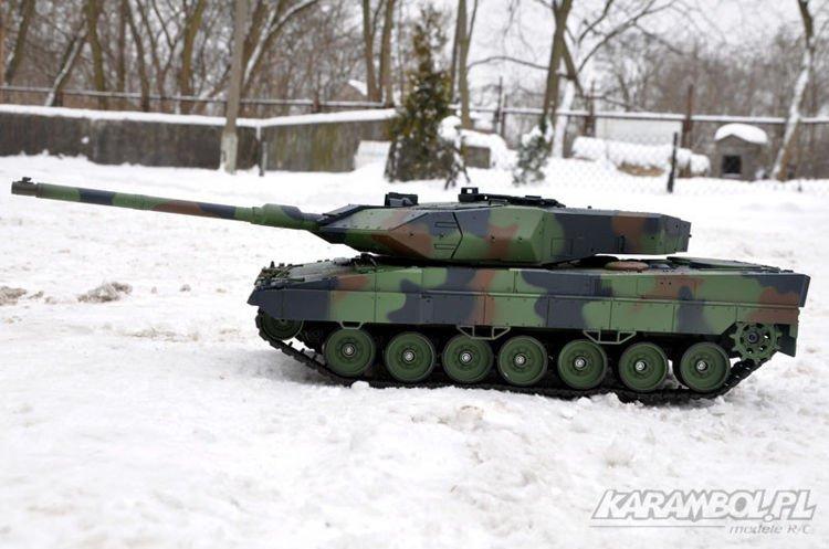czołg zdalnie sterowany Leopard 2
