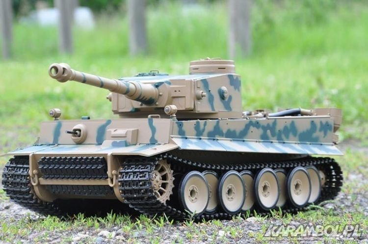 Czołg Heng Long German Tiger 1:16
